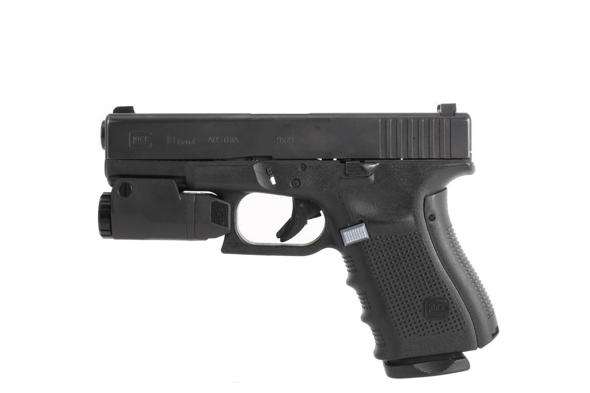 inforce aplc glock auto pistol light 200 lumens black acg 05 1