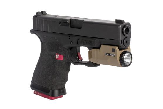 Inforce APLc Glock Auto Pistol Light - 200 Lumens - FDE