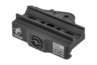American Defense Mini ACOG Quick Detach mount features a titanium lever