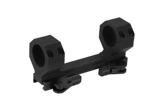 "American Defense Delta quick detach 30mm scope mount with 1.50"" central height and black anodized finish."