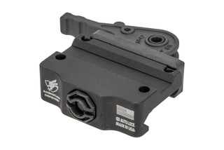 American Defense Trijicon MRO mount features a low height