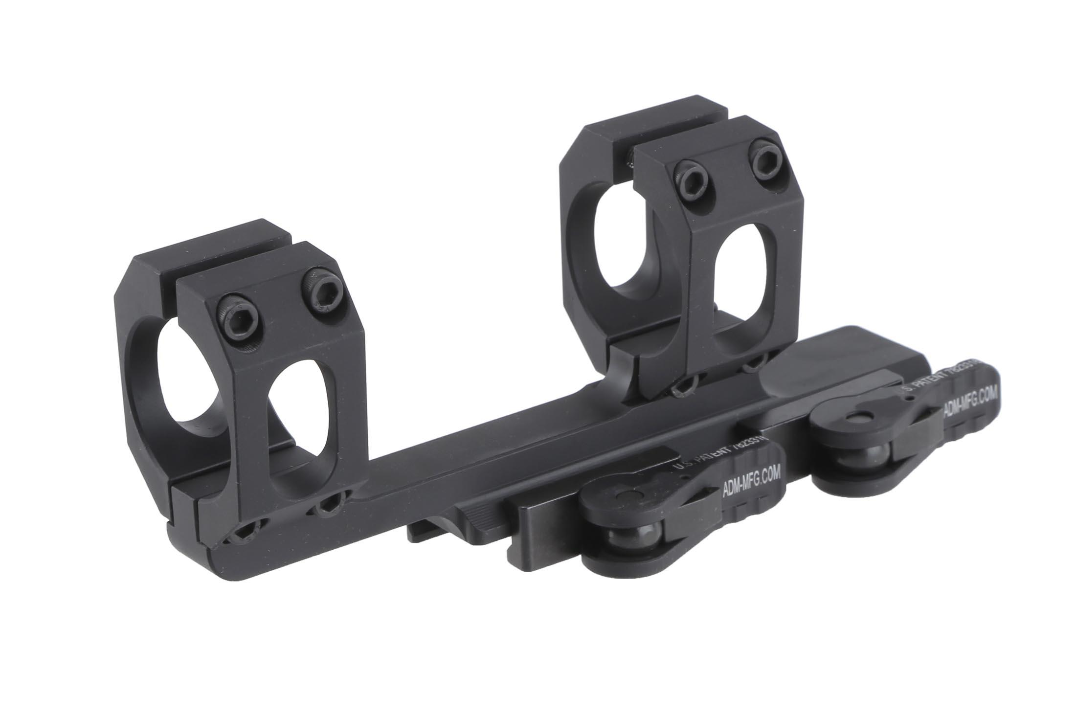 The American Defense Recon Mount 30 features the QD auto lock lever system