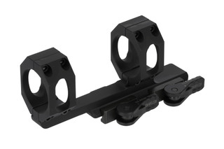"American Defense Delta quick detach 35mm scope mount with 1.50"" central height and black anodized finish."