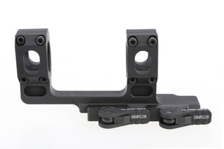 "American Defense RECON High quick detach 1"" scope mount with 1.84"" central height and black anodized finish."