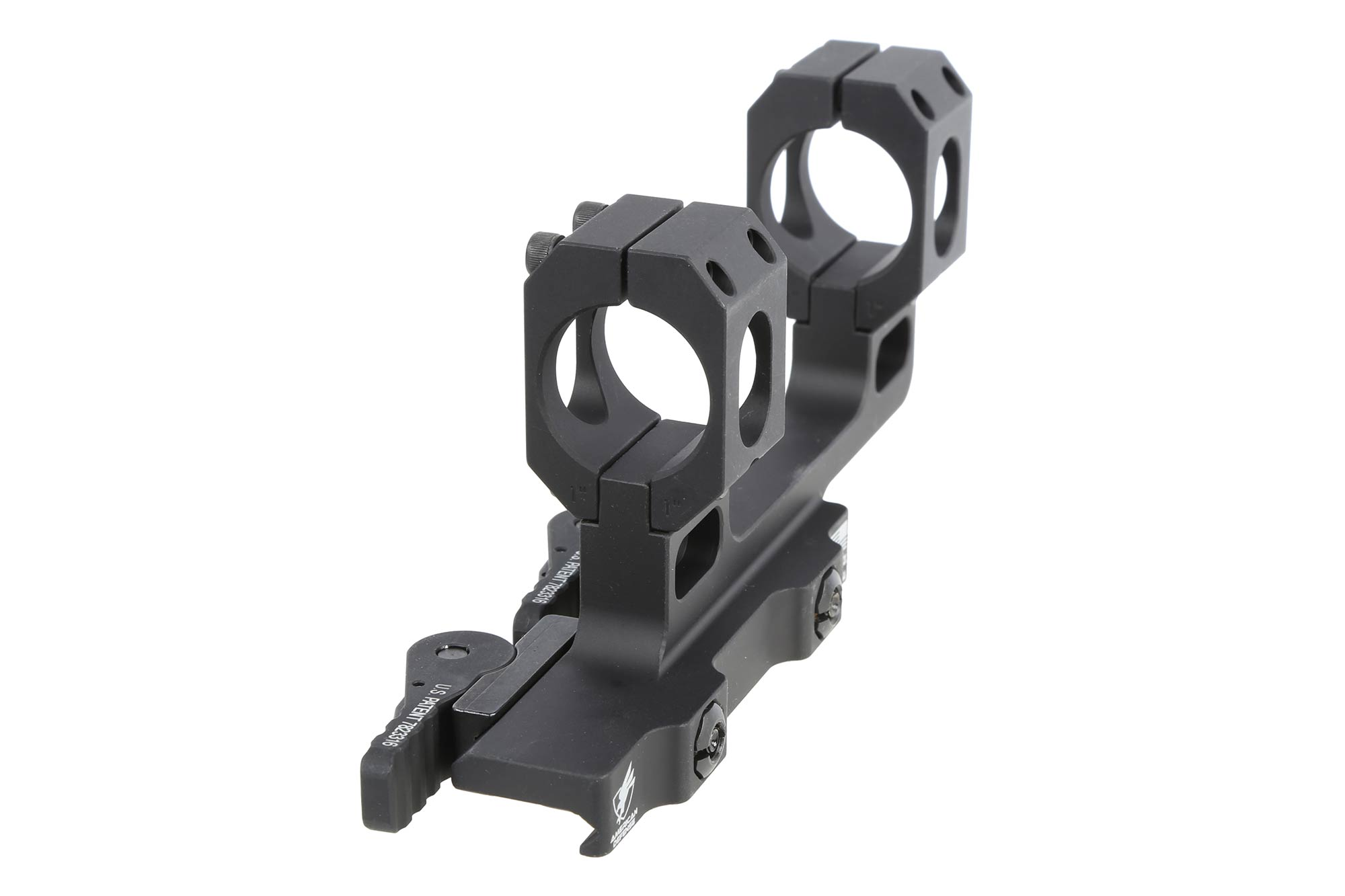 ADM 1 RECON High scope mount is perfect for rifles with monolithic receivers. Black anodized finish.