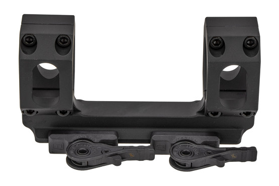 American Defense Manufacturing Recon QD scope mount features titanium locking levers