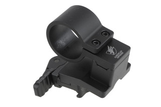 The American Defense Magnifier Mount features a swing off design for 30mm red dot magnifiers
