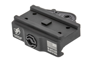 American Defense Manufacturing Quick Detach Micro Mount low is black anodized