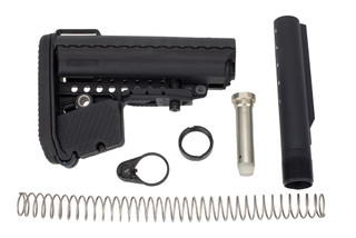 Vltor Enhanced Modstock Kit for AR15 rifles comes with all the mounting hardware
