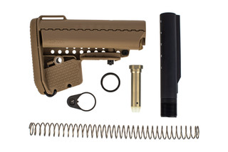 Vltor Enhanced Modstock stock kit features a flat dark earth finish