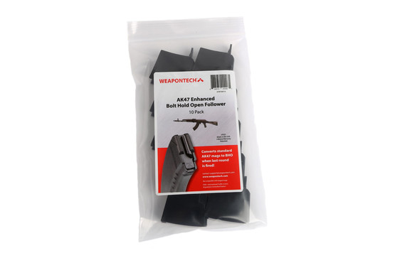 The Weapon Tech AK 47 enhanced bolt hold open pack of 10 is 922r compliant