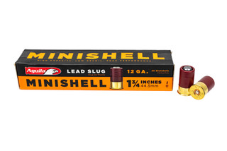 The Aguila 12 gauge minishell is designed to double the capacity in your shotgun