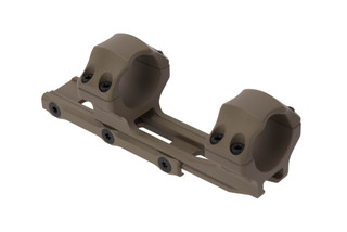 Leapers UTG ACCU-SYNC FDE medium height extended scope mount pushes 30mm rifle scopes forward 50mm for proper eye relief
