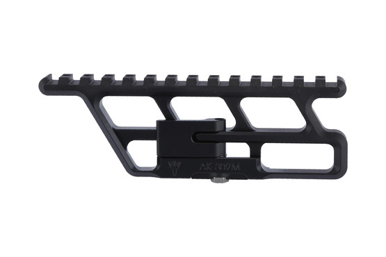 The rs regulate ak-309m full length lower scope rail attaches to the side of your AK47 receiver
