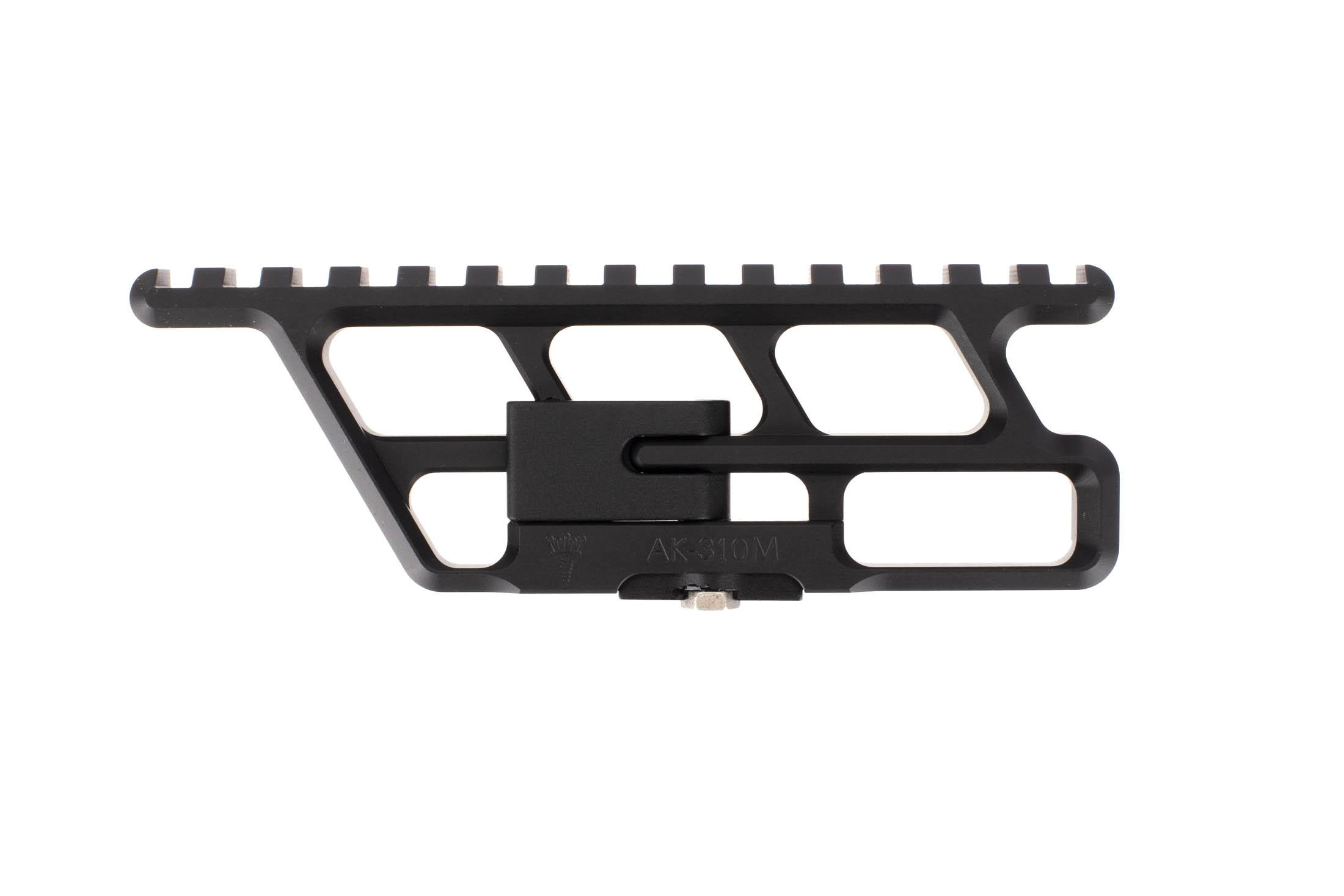 The RS Regulate ak-310m lower full length scope rail is designed for use with Romanian ak47 rifles