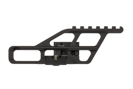 The rs regulate optic mount is made from 6061-T6 aluminum and attaches to your AK-47 receiver