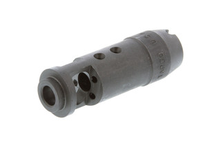 The Tapco AK74 Muzzle Brake features a traditional 14x1 lh thread pitch