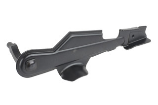 The Krebs Custom Mk VI enhanced safety lever for stamped AK47 rifles features a bolt hold open