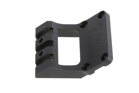 This lightweight ak47 red dot mount by RS Regulate allows you to mount an MRO directly over bore