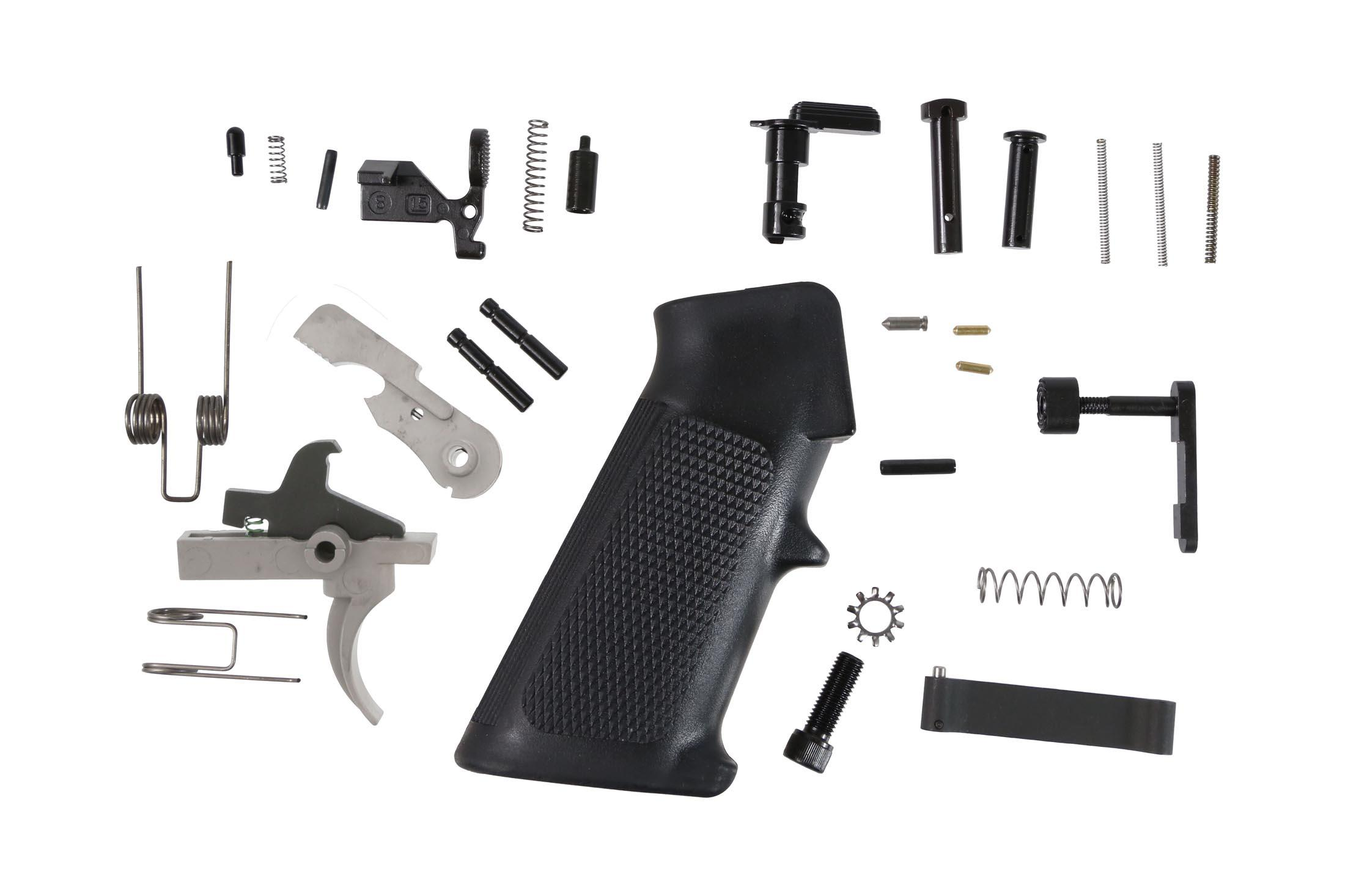 Anderson Manufacturing AR-15 Lower Parts Kit - Stainless Hammer and Trigger