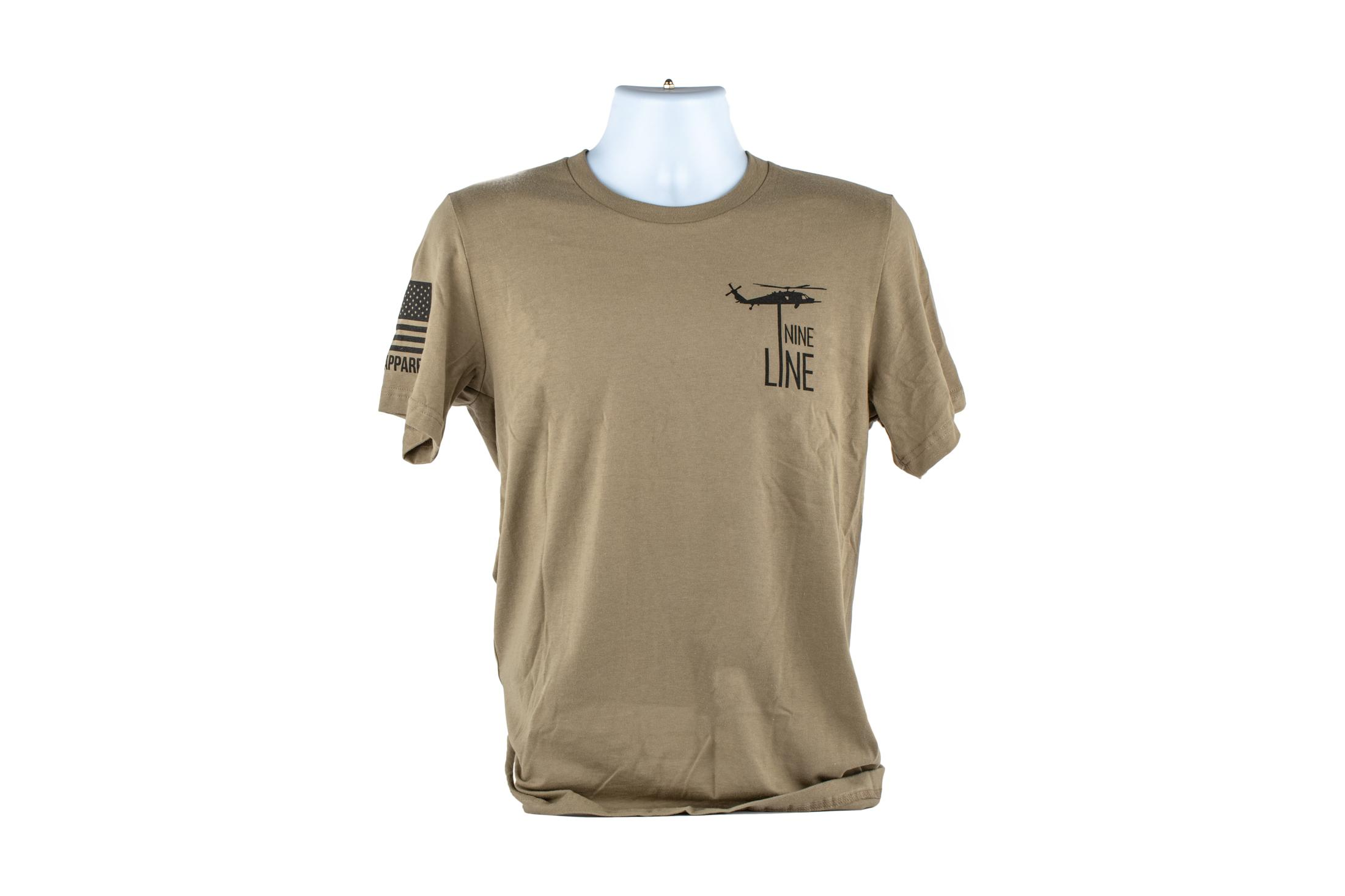 Nine Line Apparel America T-Shirt - Coyote - 2XL