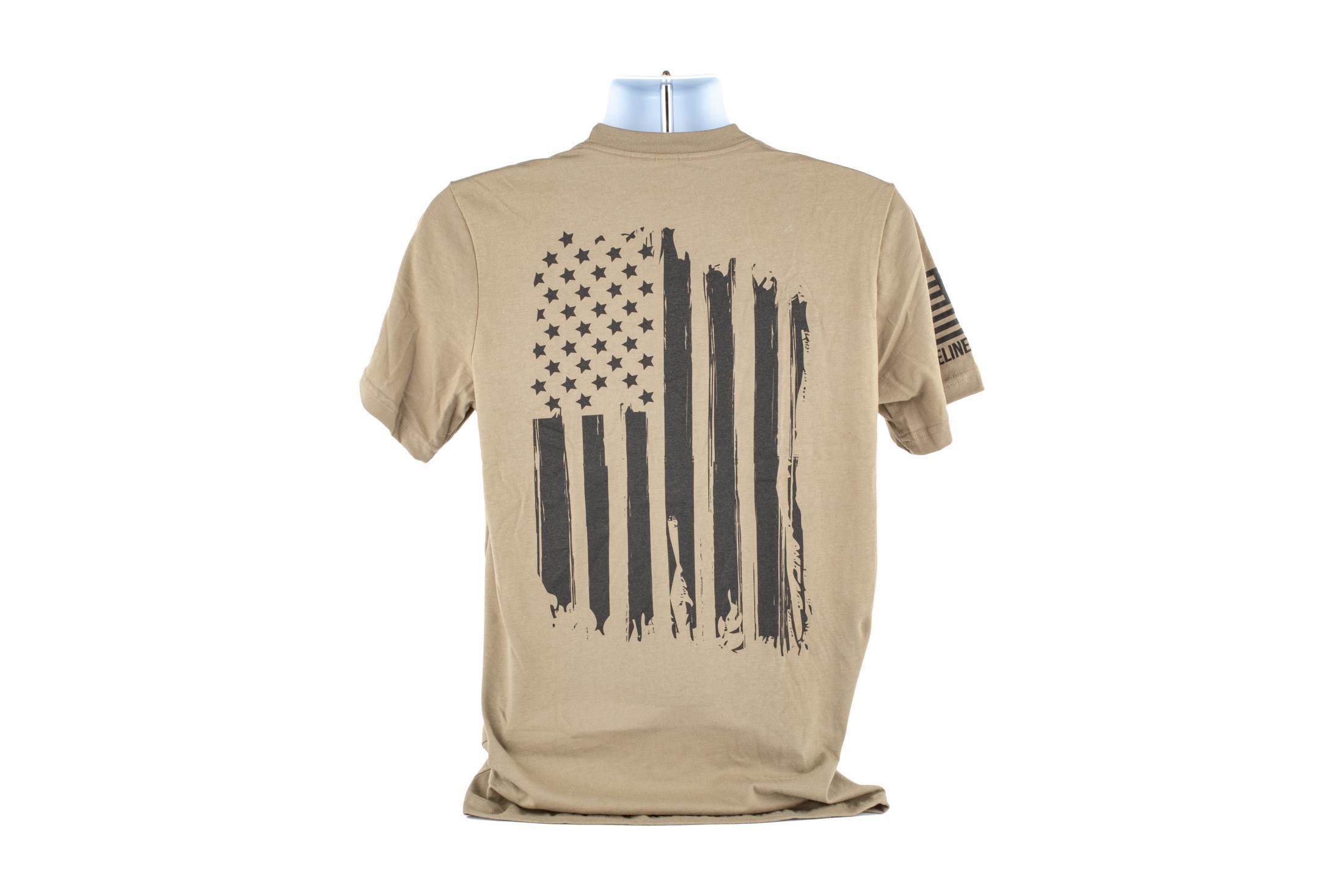 Nine Line Apparel America T-Shirt - Coyote - L