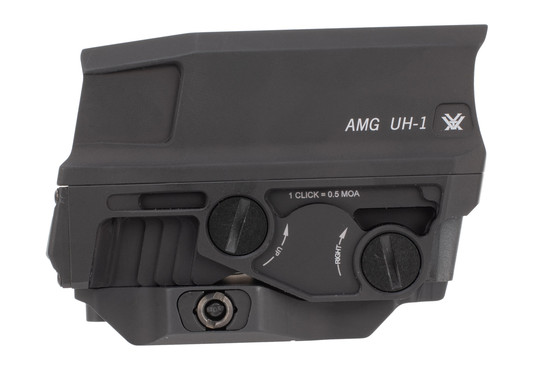 Vortex Optics AMG UH1 Gen II holographic weapon sights features a larger field of view