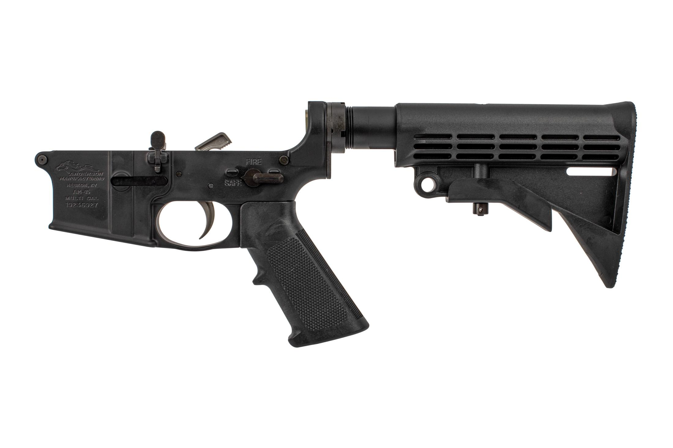 Anderson Manufacturing AR-15 Complete Lower Receiver - Closed Ear
