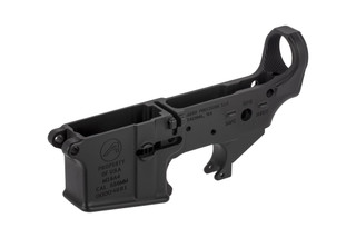The Aero Precision M16A4 stripped lower receiver is the perfect starting point for building a military rifle clone