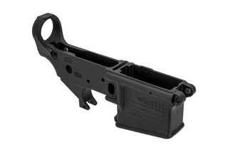 Aero Precision stripped AR-15 lower receiever special edition don't tread on me in black anodized finish