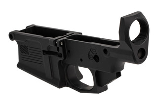 Aero Precision stripped M5 lower receiver for .308 with special edition freedom engraving and black finish