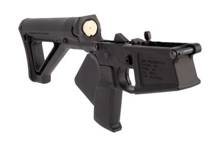 Aero Precision M5 Featureless complete Lower receiver comes with a Strike Industries Fin Grip