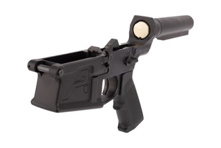 Aero Precision M5 Complete Lower Receiver features a carbine length buffer tube