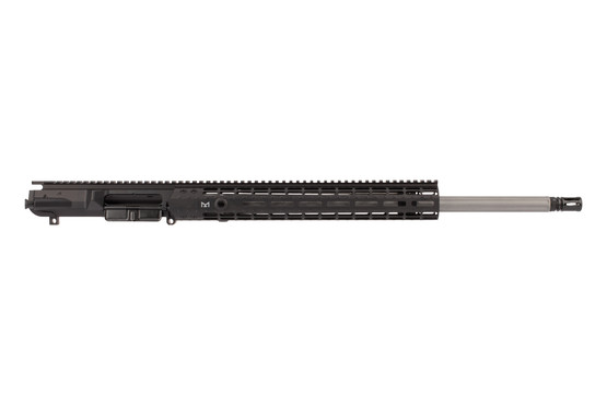 Aero Precision M5E1 6.5 Creedmoor barreled upper receiver features a black anodized finish