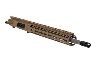 Aero Precision M5E1 Barreled Upper Receiver group features a flat dark earth Cerakote finish