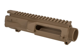 Aero Precision M5 threaded ar-308 stripped upper reicever with texas edition engraving and FDE finish