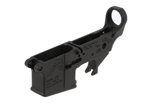 The Aero Precision Stripped lower AR15 reciever is forged from 7075-T6 aluminum