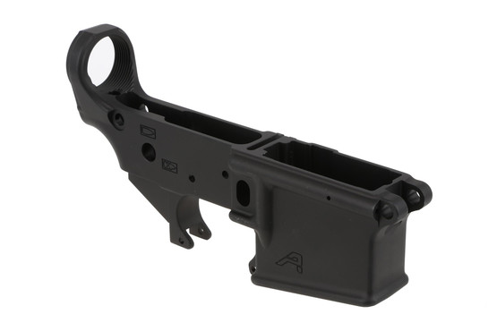 The Aero Precision AR15 stripped lower receiver is compatible with Mil-Spec parts