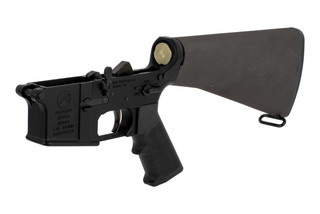 Aero Precision M16A4 complete clone AR-15 lower receiver with fixed rifle stock and A2 pistol grip