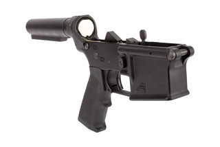 Aero Precision Complete Lower Receiver features a carbine receiver extension