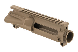 The Aero Precision Stripped FDE Upper Receiver Texas Edition features a unique Texas engraving on the top