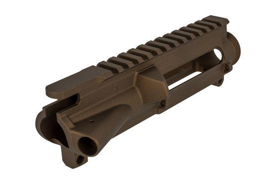 The Aero Precision stripped AR-15 upper receiver features Mil-Spec dimensions
