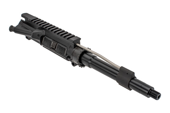 The Aero Precision 7.5 barreled upper no handguard features a pistol length gas system