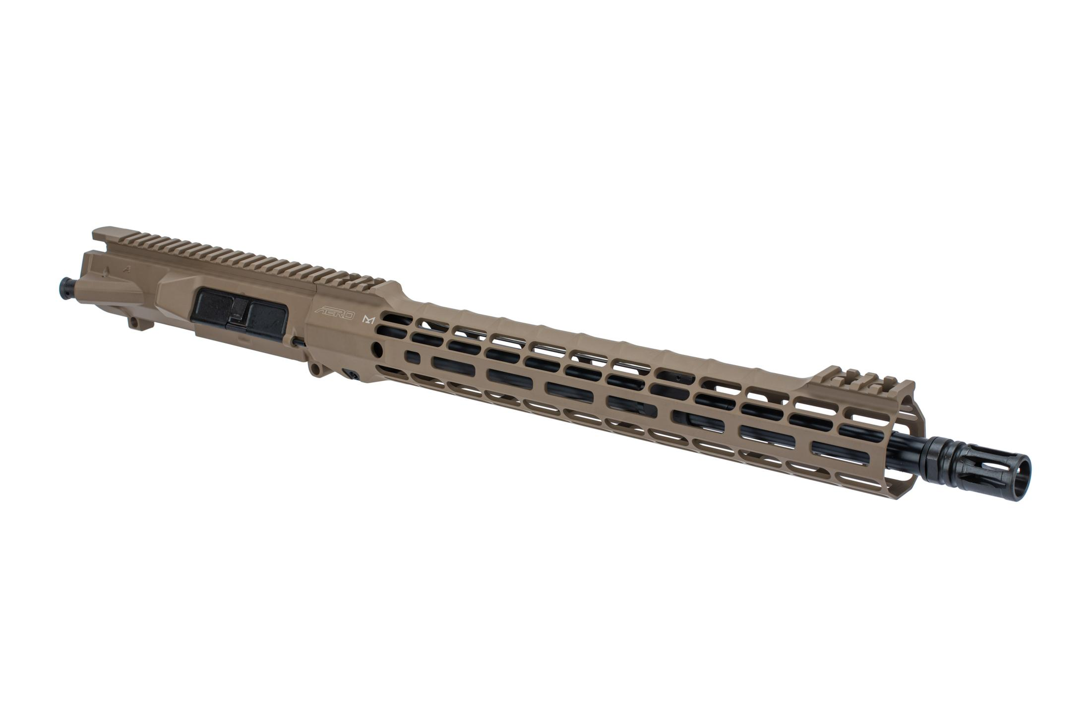 Aero Precision M5 barreled upper receiver with .308 chamber mid-length gas system and Atlas S-ONE FDE handguard