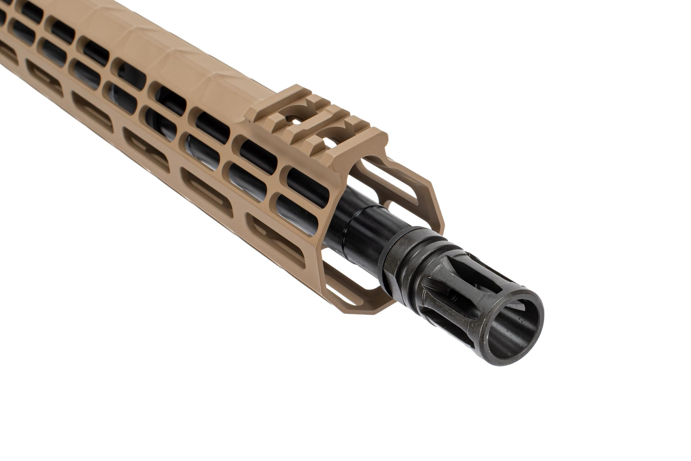 Aero Precision 16 M5 barreled AR308 upper in .308 WIN with Atlas S-ONE M-LOK rail in flat dark earth