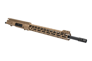 "Aero Precision M5 18"" barreled upper receiver with .308 chamber mid-length gas system and Atlas S-ONE FDE handguard"