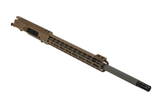 Aero Precision M5 barreled upper 6.5 creedmoor features a 22 inch barrel and FDE anodized finish