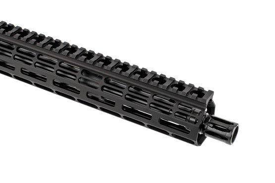 "Aero Precision 12.5"" upper in .308 for M5 series features 5/8x24 threading and an effective A2 flash hider"