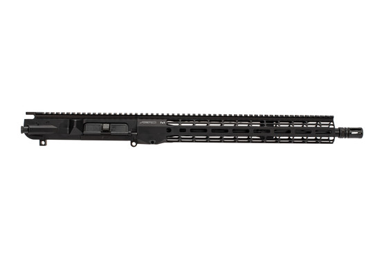 "Aero Precision 16"" Mid-length black AR10 upper receiver with Atlas R-ONE M-LOK handguard and mid-length gas system."