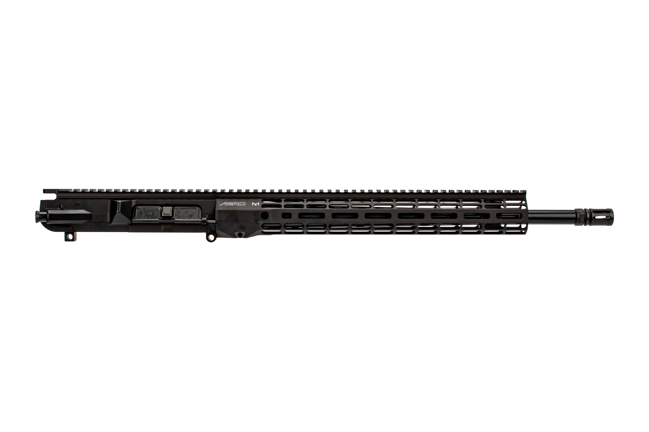 Aero Precision 18 Mid-length black AR10 upper receiver with Atlas R-ONE M-LOK handguard and mid-length gas system.